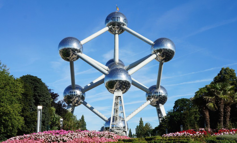 Outside view Atomium Brussels 1024x575
