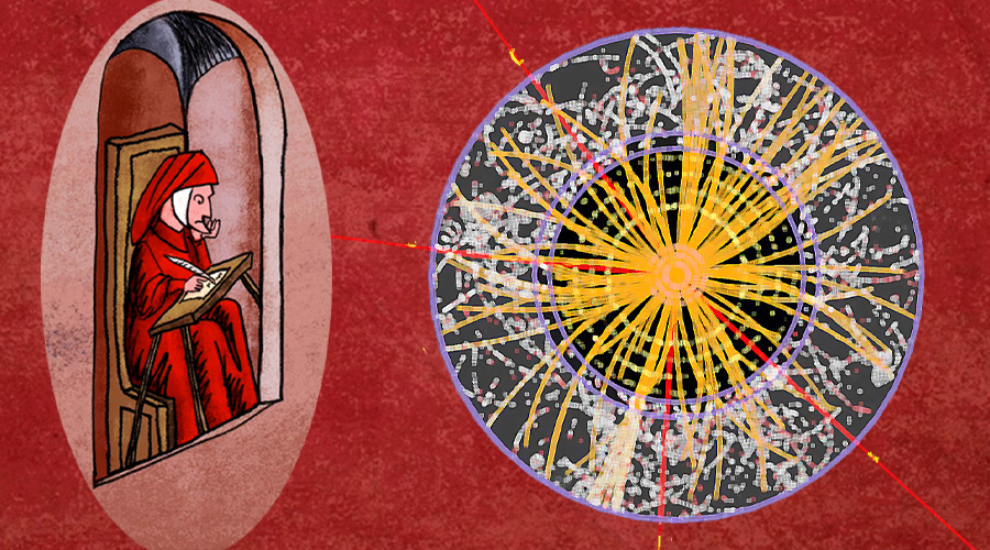 WAS DANTE RIGHT? FROM THE DIVINE COMEDY AN ACCURATE PREDICTION FOR THE HIGGS MASS