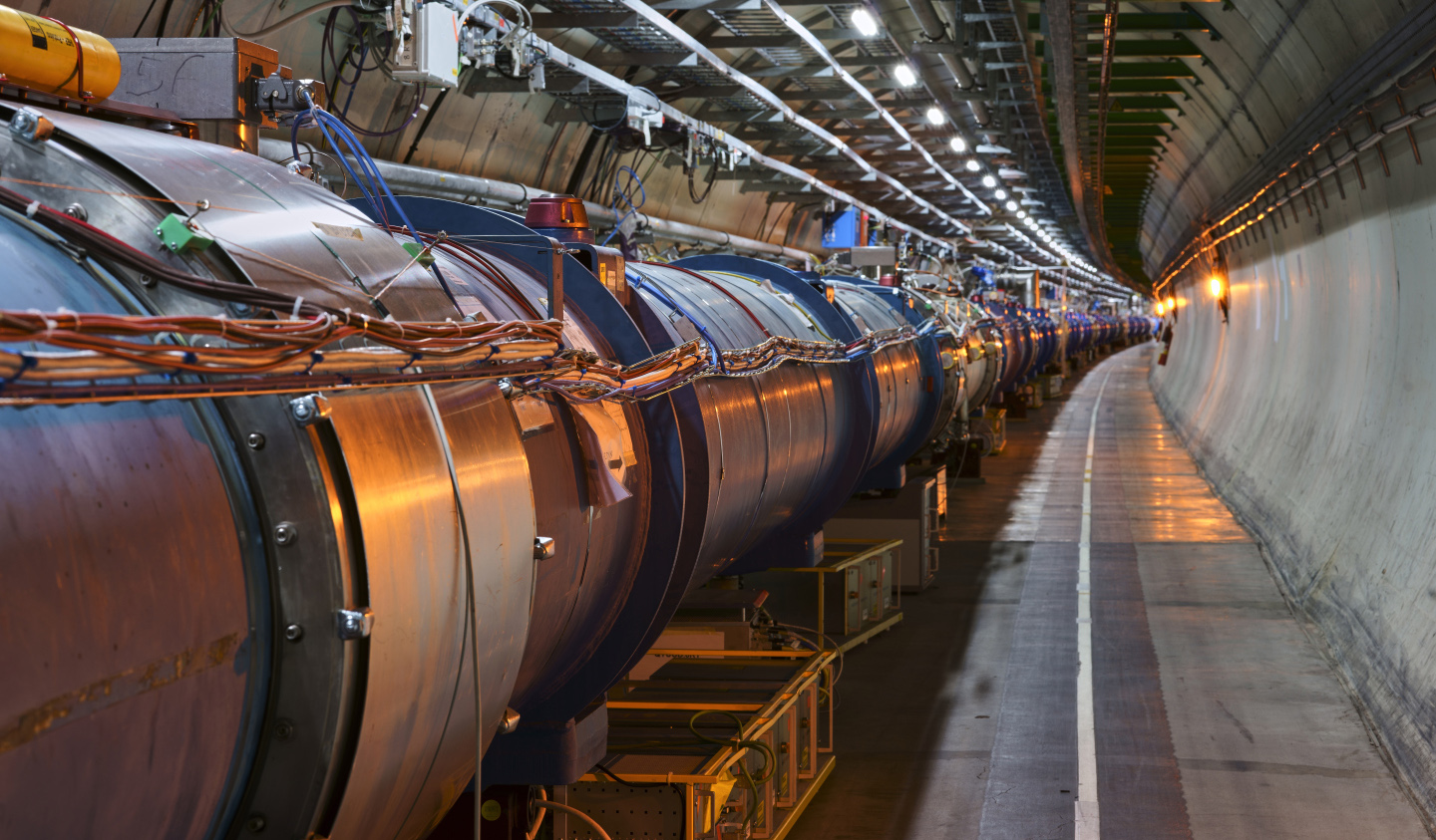 LHC WILL START UP AGAIN IN MAY 2021