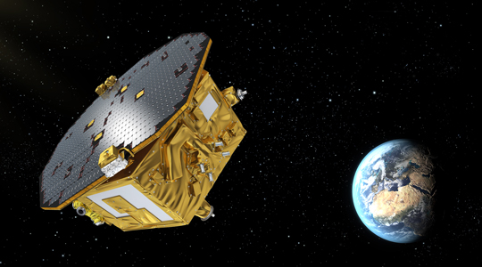 LISA Pathfinder in space 2016