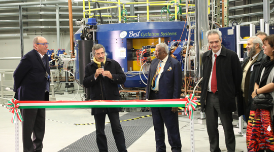 INAUGURATION OF THE SPES CYCLOTRON AT THE LEGNARO NATIONAL LABORATORIES