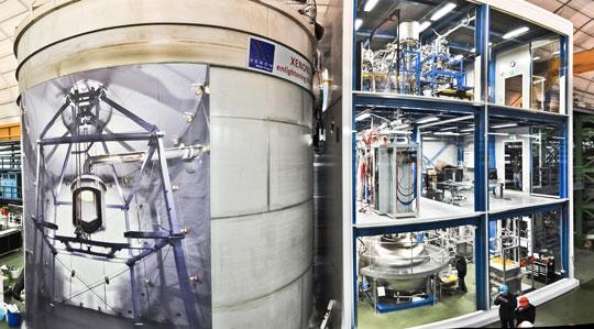 LNGS, XENON1T HA MISURATO IL PROCESSO PIÙ RARO OSSERVATO NELL'UNIVERSO