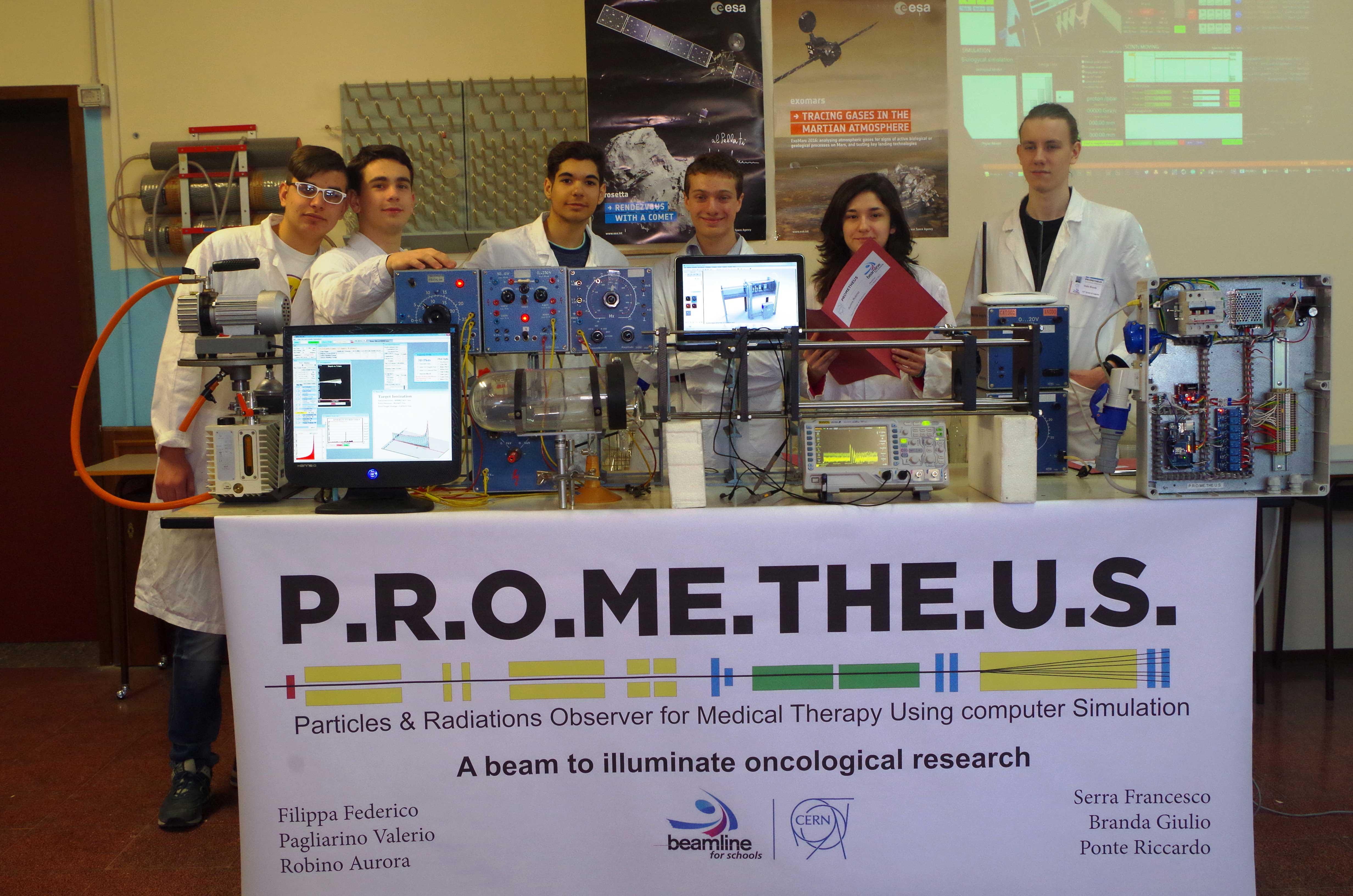 Beamline for schools: studenti vincitori realizzano esperimento al Tifpa di Trento