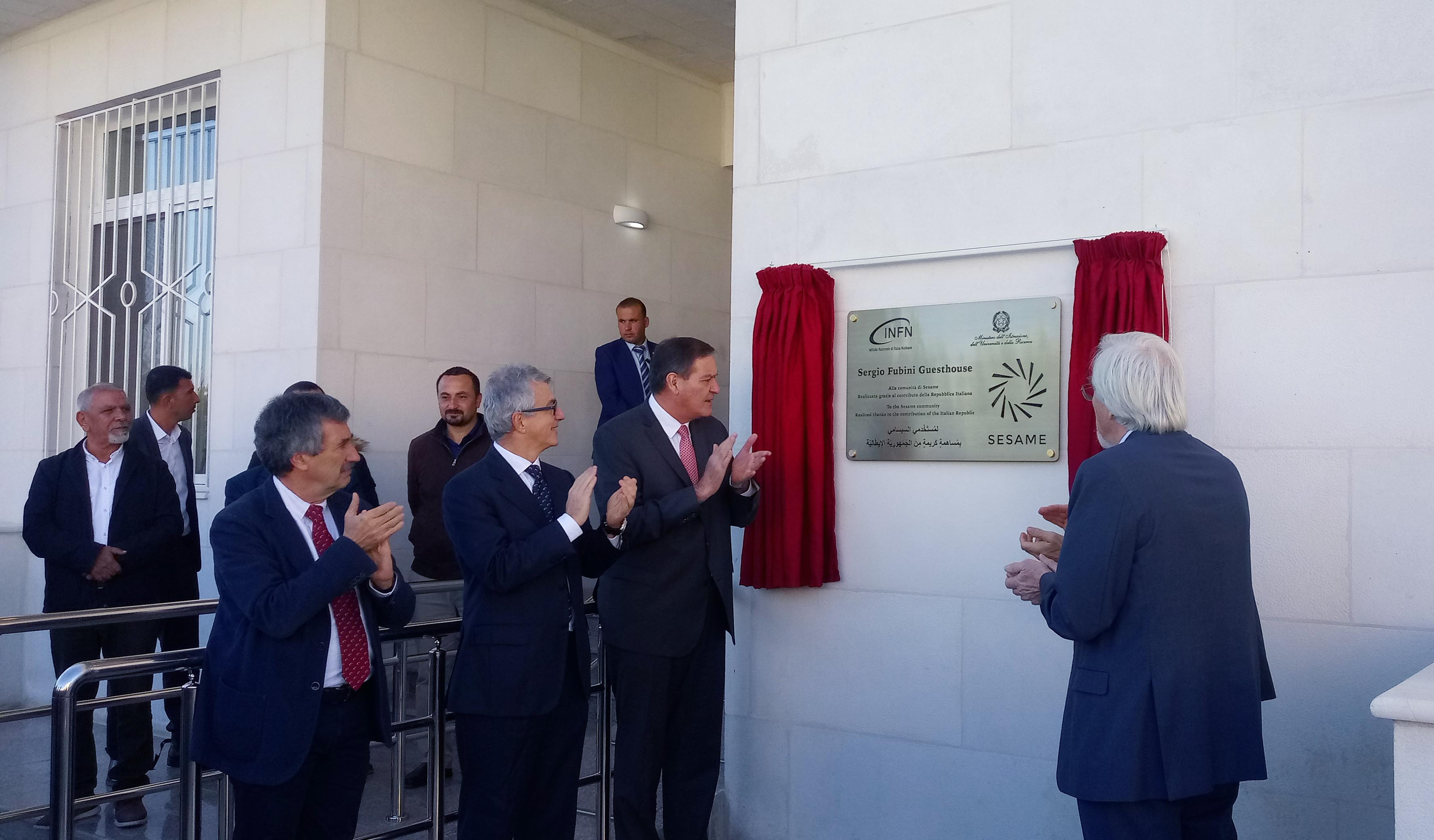 THE SESAME GUEST HOUSE IS INAUGURATED WITH THE CONTRIBUTION OF ITALY