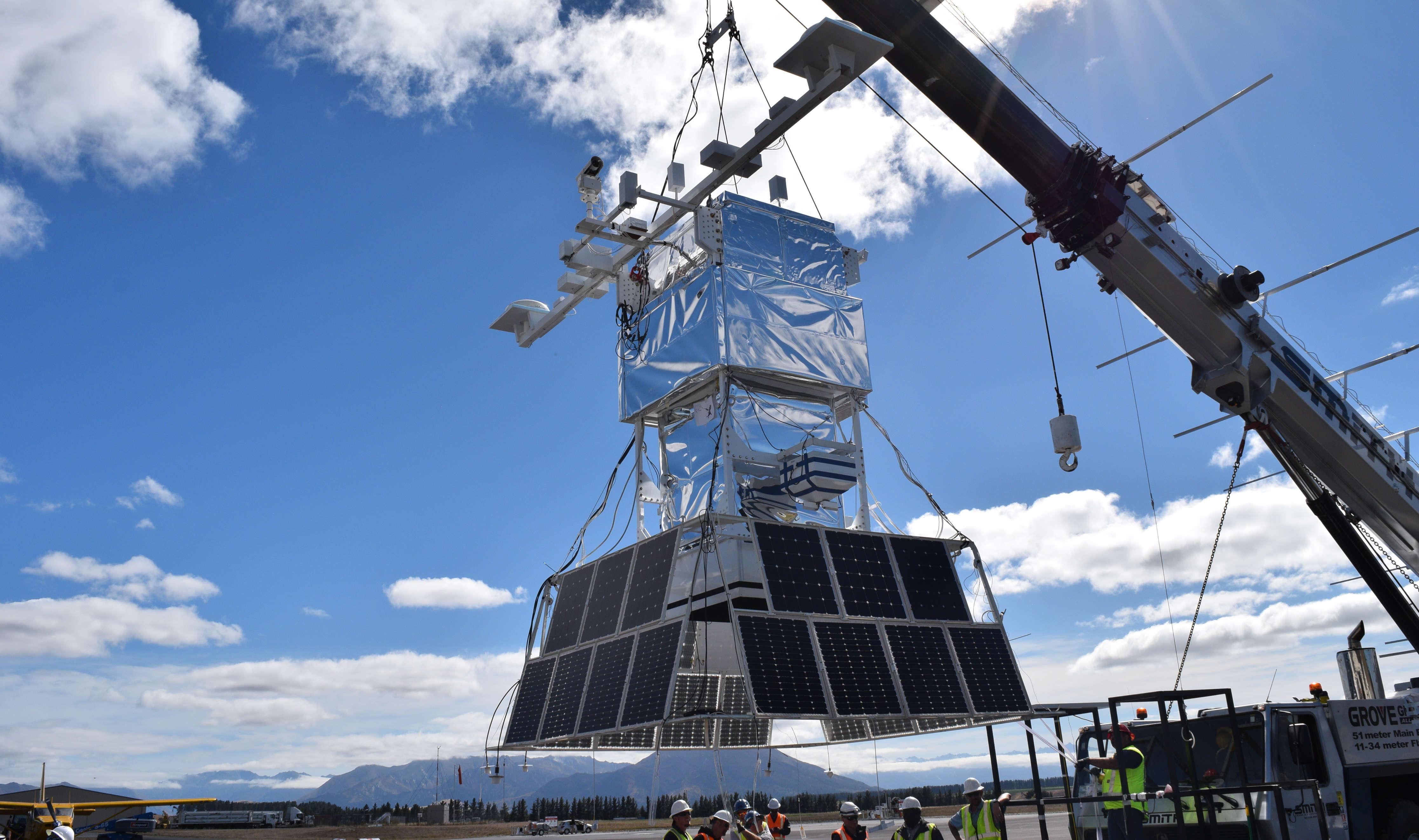 UNIVERSO ESTREMO: LANCIATO IL TEST SU PALLONE DELLA NASA EUSO-SPB