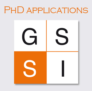 application Phd Gssi